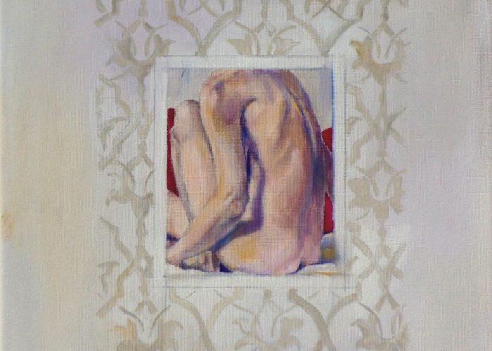 Charm - painting, acrylic on canvas by artist Neva Bergemann