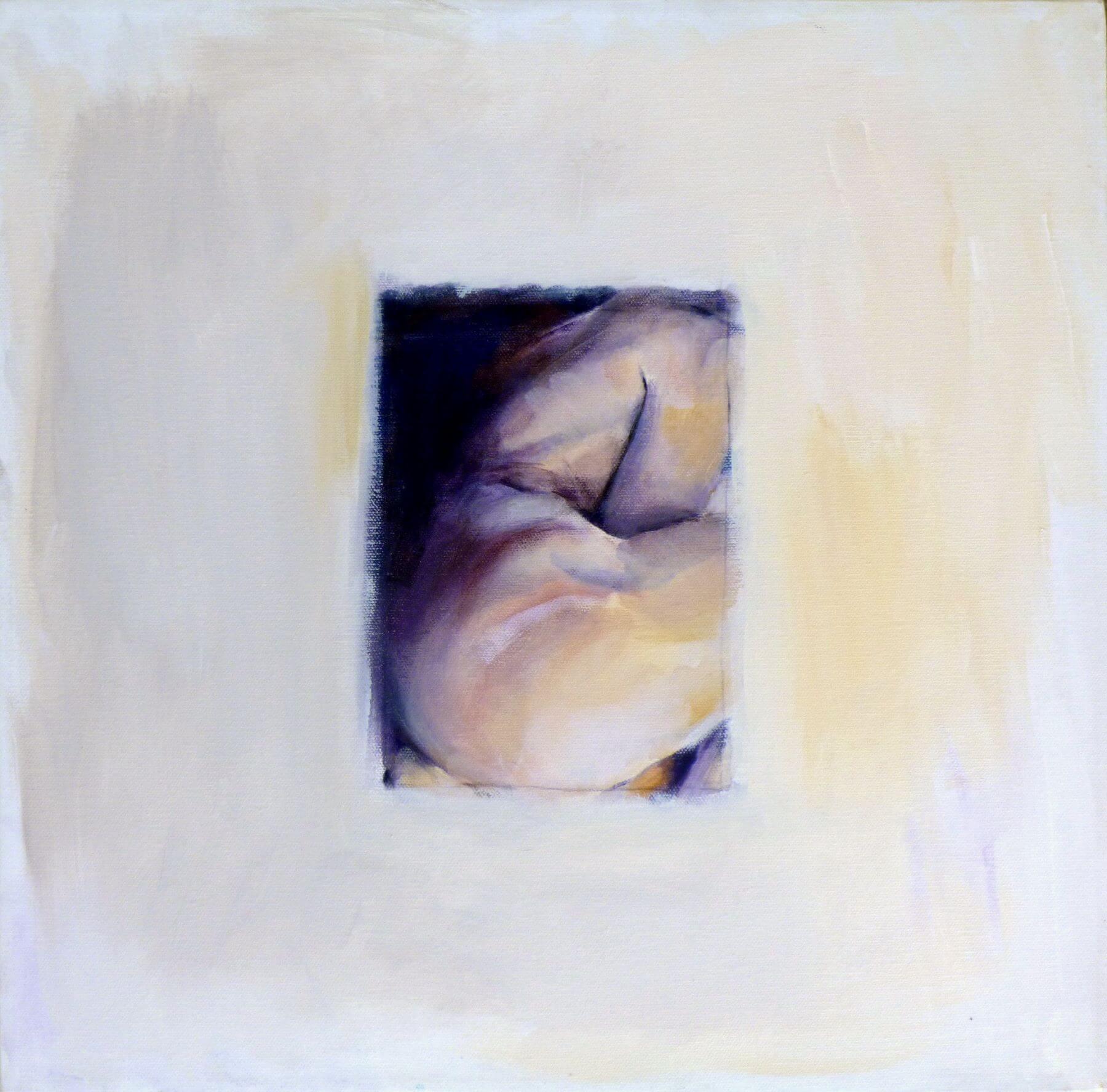 Heart 2 - painting, acrylic on canvas by artist Neva Bergemann