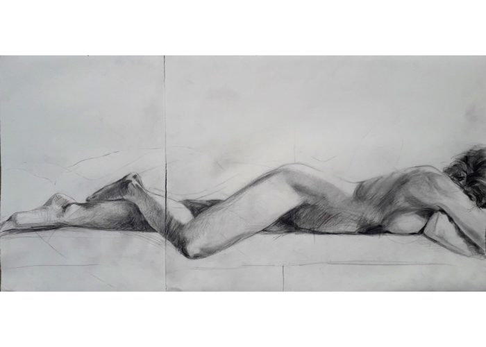 How I See It - drawing - graphite on paper, by artist Neva Bergemann