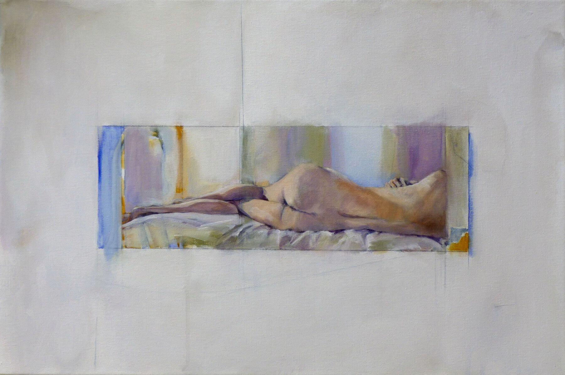 Memento - painting, acrylic on canvas by artist Neva Bergemann
