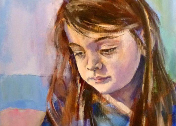 Nefeli, Painting. Acrylic on Canvas by Neva Bergemann, artist