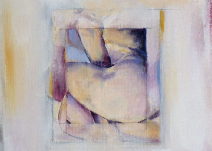 Pinwheel - painting, acrylic on canvas by artist Neva Bergemann